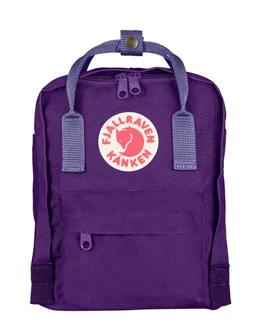 Fjallraven - Green 'mini Kanken' Water Resistant Backpack - Purple - Lyst