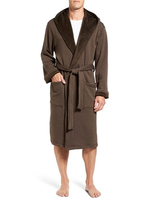 Ugg | Black Ugg 'brunswick' Robe for Men | Lyst