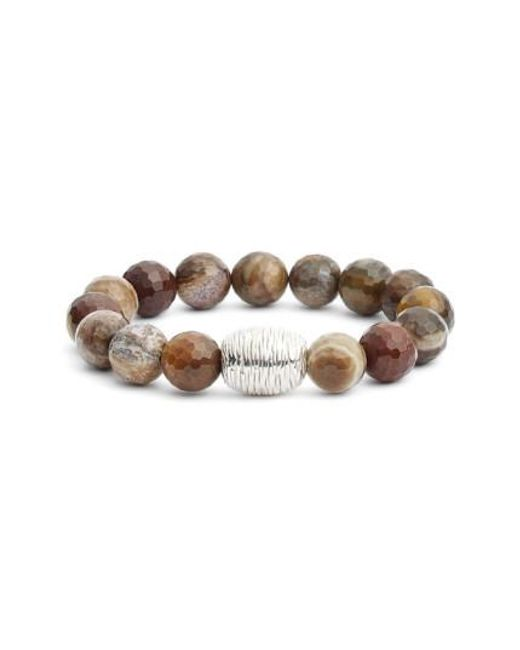 Simon Sebbag | Brown Stretch Bracelet (nordstrom Exclusive) | Lyst