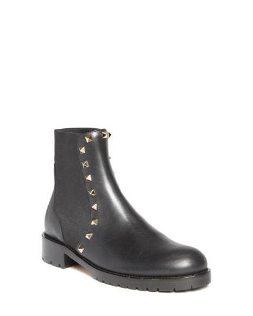Valentino Women's Beatle Rockstud Boot Tk26Ldf
