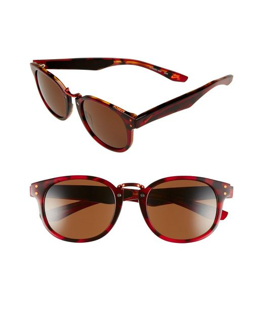 Nike - Brown 'achieve' 52mm Sunglasses - - Lyst
