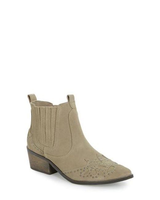 Matisse | Brown Backstage Bootie | Lyst