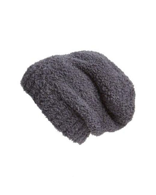 Barefoot Dreams - Black Barefoot Dreams 'cozy Chic' Slouch Beanie - Lyst