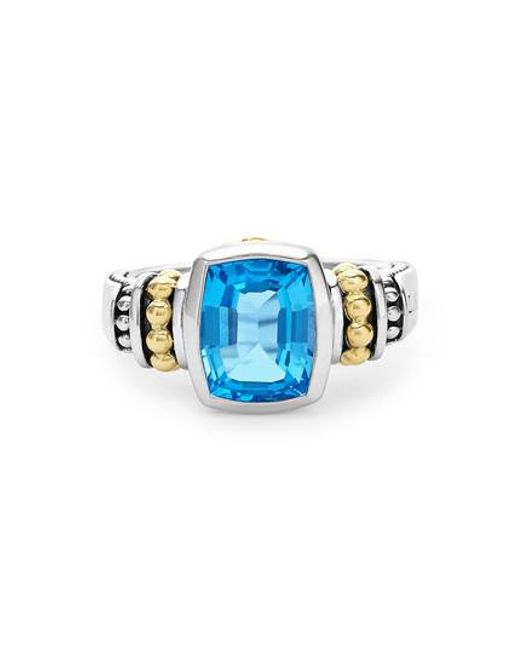Lagos - Blue 'caviar Color' Small Semiprecious Stone Ring - Lyst