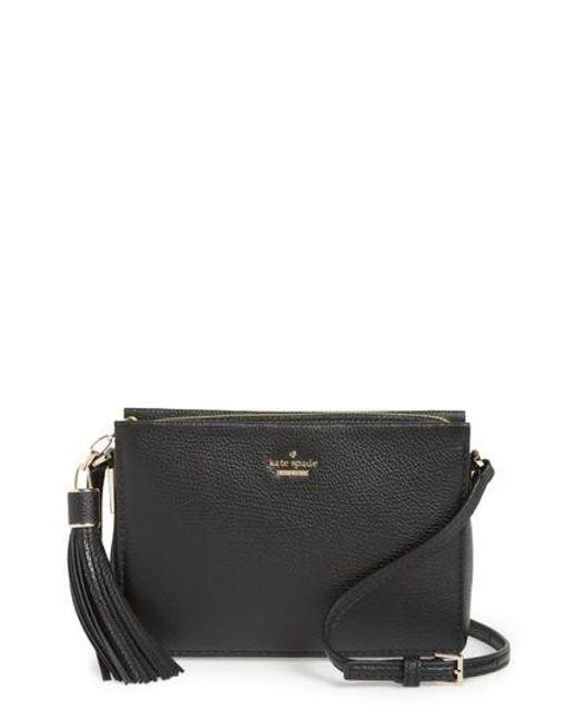 Kate Spade - Black Kingston Drive - Gillian Leather Crossbody Bag - Lyst
