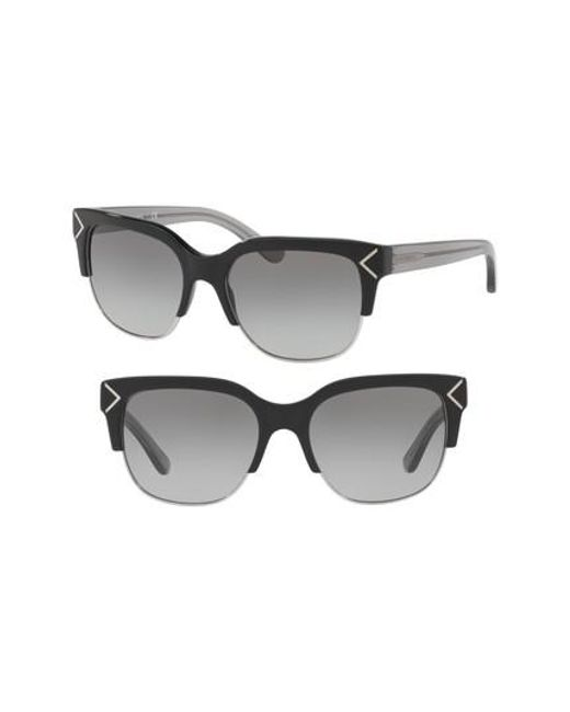Tory Burch | Gray 55mm Gradient Square Sunglasses | Lyst