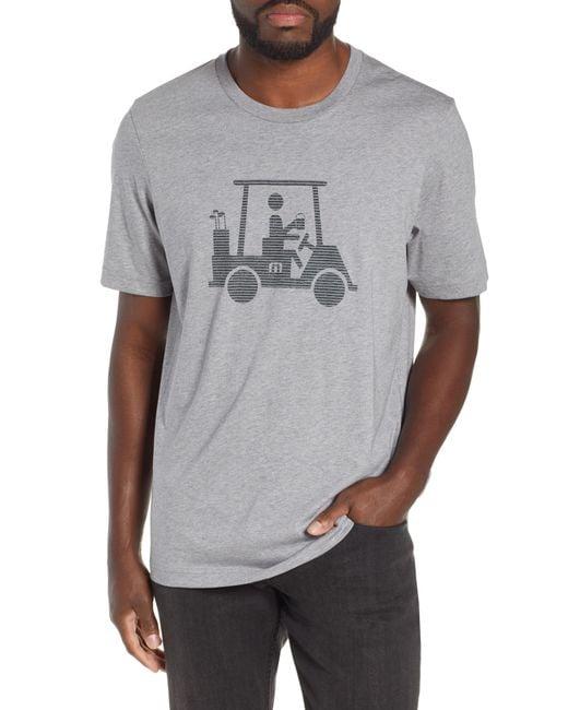 Travis Mathew - Gray Vangerine Graphic T-shirt for Men - Lyst