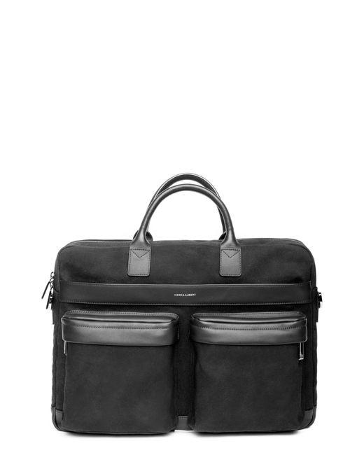 Hook + Albert - Black Canvas Laptop Briefcase for Men - Lyst