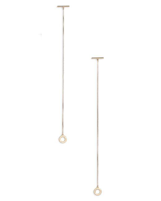 Jenny Bird - Metallic Mimi Shoulder Duster Earrings - Lyst