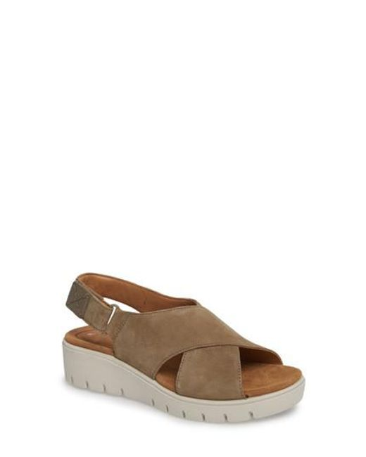 Clarks - Brown Clarks Unstructured By Clarks Karely Sandal - Lyst