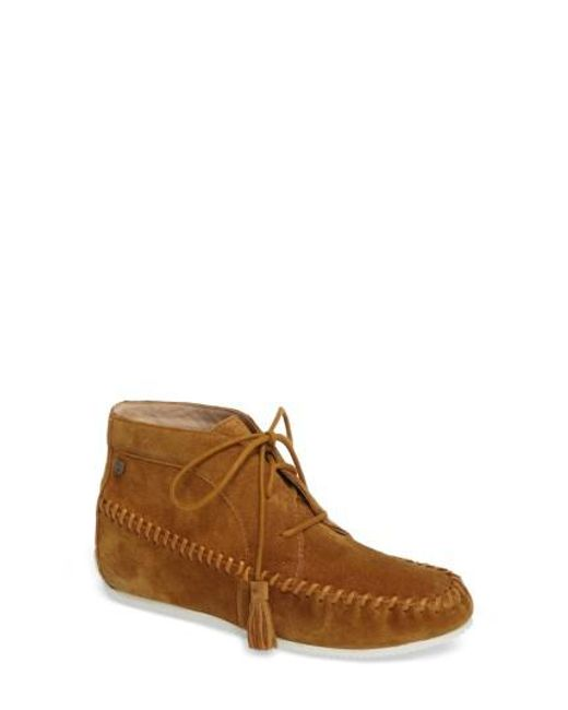 Hush Puppies | Brown Hush Puppies Kinsee Carine Hidden Wedge Boot | Lyst