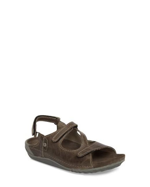 00deaef5a Lyst - Wolky Leif Sandal in Brown for Men
