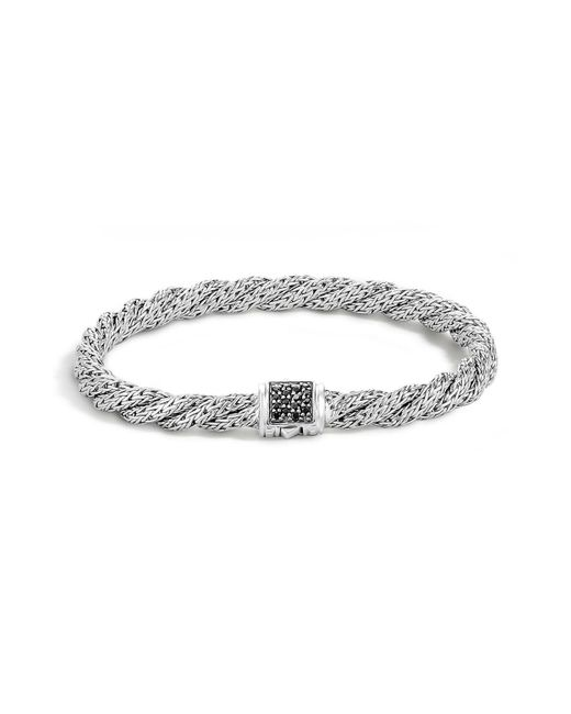 John Hardy - Metallic 'classic Cable' Twisted Chain Bracelet - Lyst