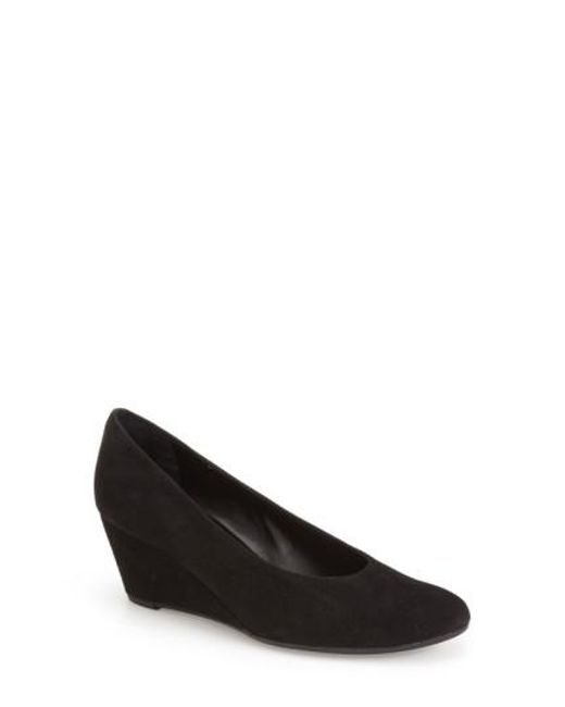 Vaneli - Black 'Dilys' Wedge Pump - Lyst