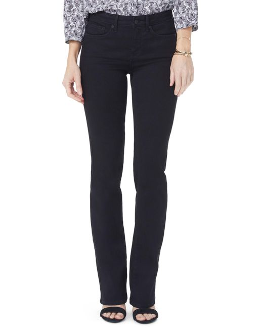 NYDJ - Blue Barbara High Waist Stretch Bootcut Jeans - Lyst