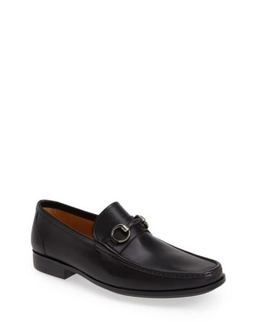 Magnanni Shoes - Black 'blas' Bit Loafer for Men - Lyst