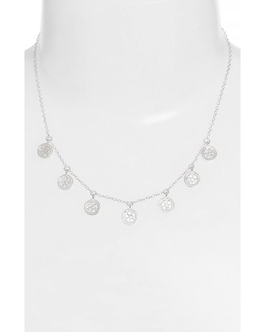 Anna Beck - Metallic 'gili' Charm Necklace - Lyst