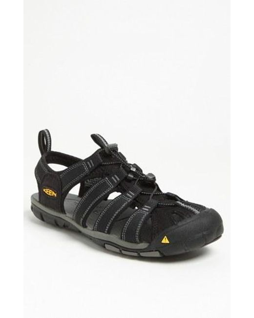 Keen | Black 'clearwater Cnx' Sandal for Men | Lyst