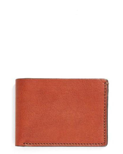 Bosca | Multicolor Leather Bifold Wallet for Men | Lyst
