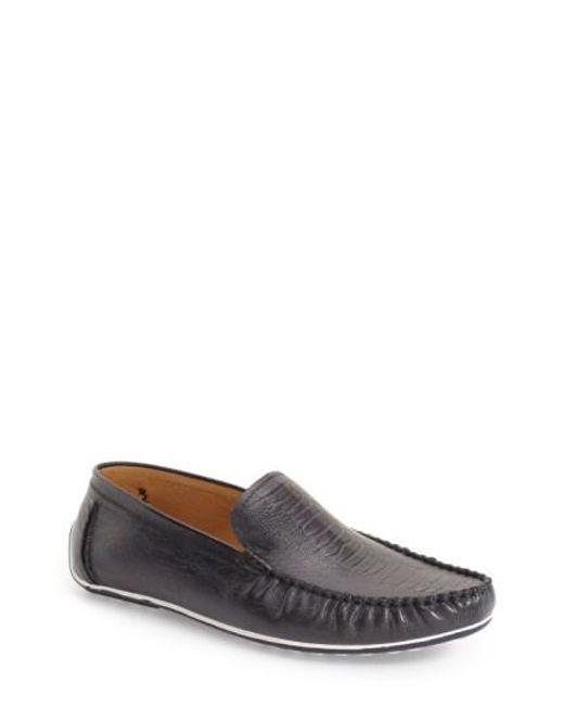 Zanzara | Blue 'rembrandt' Driving Loafer for Men | Lyst