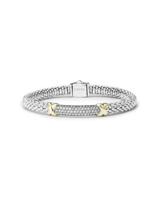 Lagos | Metallic 'diamond Lux' Diamond Rope Bracelet | Lyst