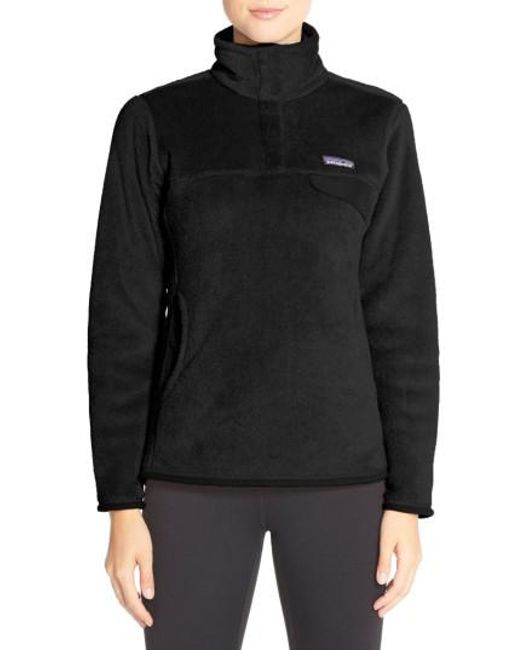 Patagonia - Black 're-tool' Snap Pullover - Lyst