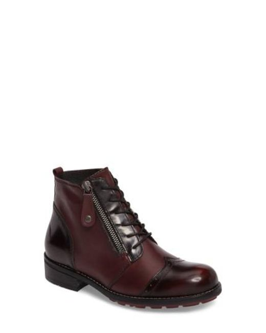 Wolky - Brown Millstream Boot - Lyst