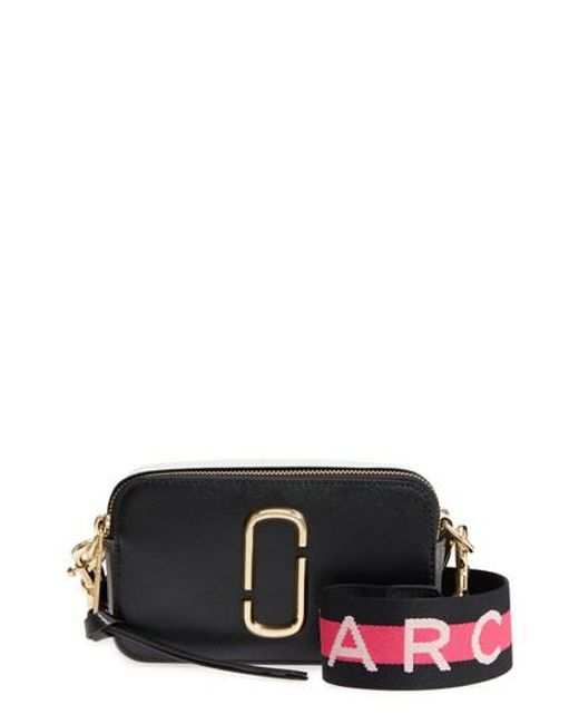 Marc Jacobs - Black Snapshot Crossbody Bag - Lyst