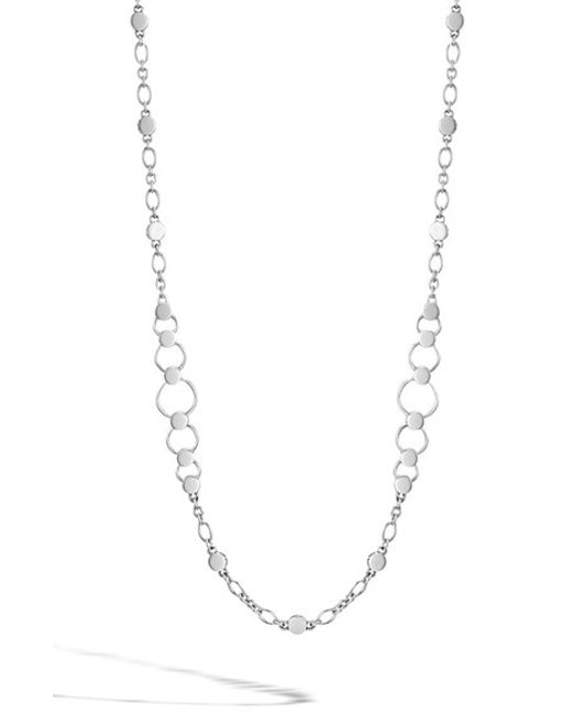 John Hardy | Metallic 'dot' Long Link Necklace | Lyst
