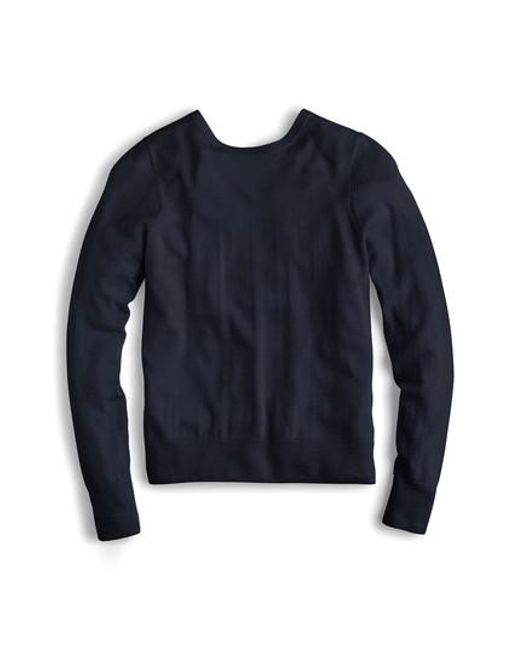 J.Crew - Blue J.crew Reversible Button Back Sweater for Men - Lyst