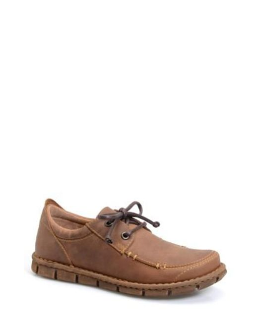 Børn | Brown B?rn 'joel' Moc Toe Derby for Men | Lyst
