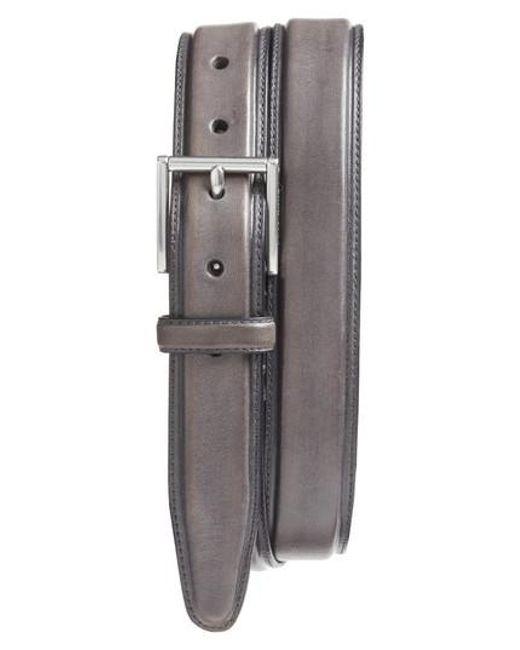 Cole Haan - Multicolor Pressed Edge Leather Belt for Men - Lyst