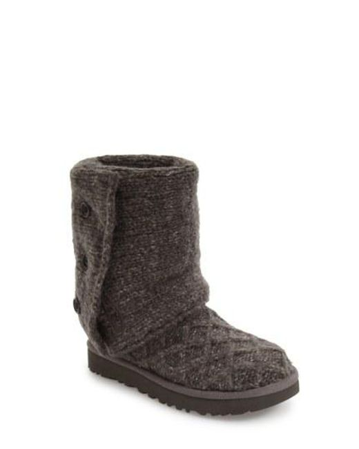 Ugg - Brown Ugg Lattice Cardy Ii Boot - Lyst