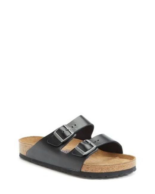 Birkenstock | Black 'arizona Soft' Sandal for Men | Lyst