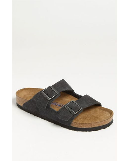 Birkenstock | Gray 'arizona Soft' Slide for Men | Lyst