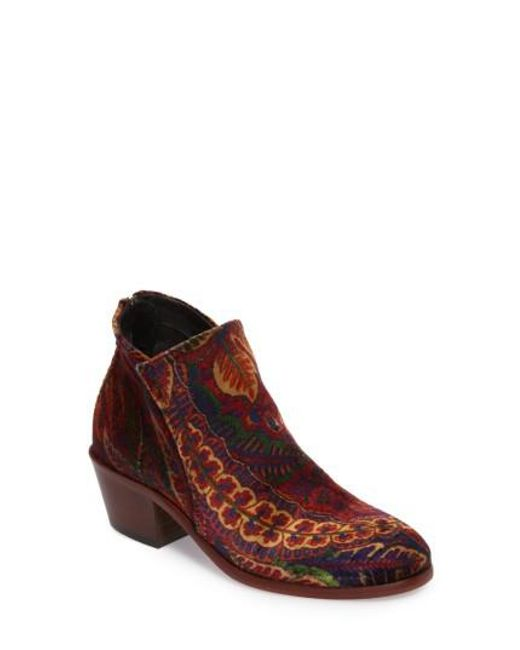 H by Hudson | Brown Apisi Bootie | Lyst