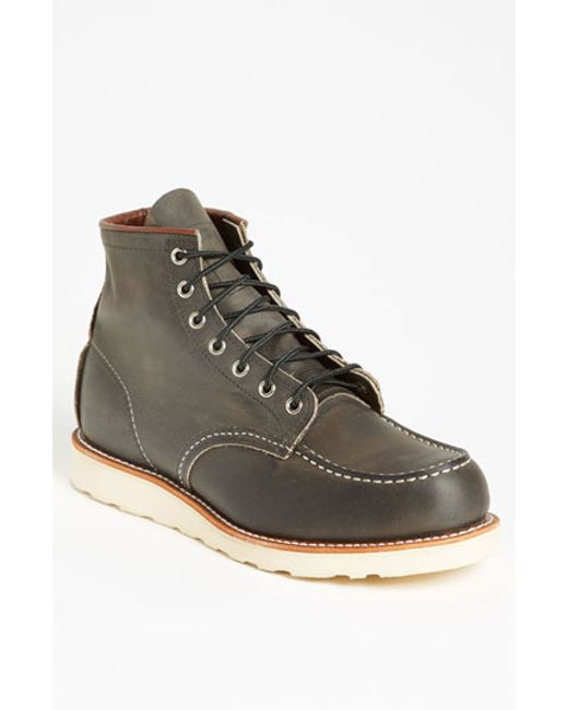 Red Wing | Gray 6 Inch Moc Toe Boot for Men | Lyst