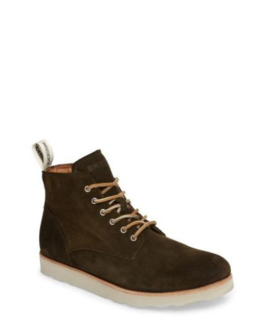 Blackstone - Brown Om 53 Plain Toe Boot for Men - Lyst