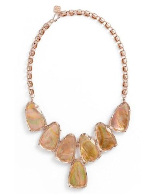 Kendra Scott | Brown Harlow Necklace | Lyst