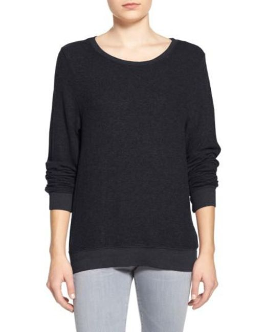 Wildfox - Black 'baggy Beach Jumper' Pullover - Lyst