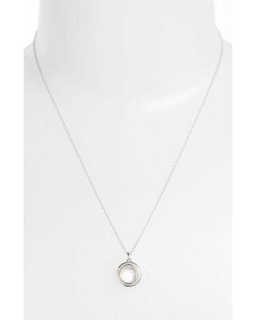 Ippolita | Metallic 'rock Candy - Mini Lollipop' Pendant Necklace | Lyst