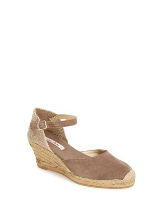 Toni Pons | Orange 'lloret-5' Espadrille Wedge Sandal | Lyst