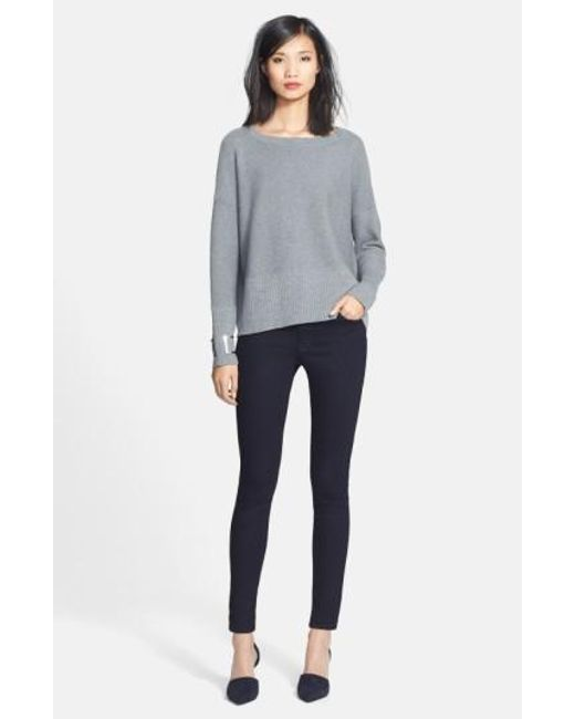 Lafayette 148 New York | Blue 'primo Denim' Curvy Fit Slim Leg Jeans | Lyst