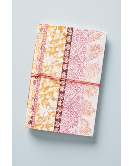 Anthropologie - Pink Sandia Journal - Lyst