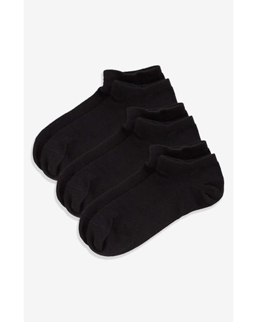 Zella | Fitness 3-pack Liner Socks, Black | Lyst