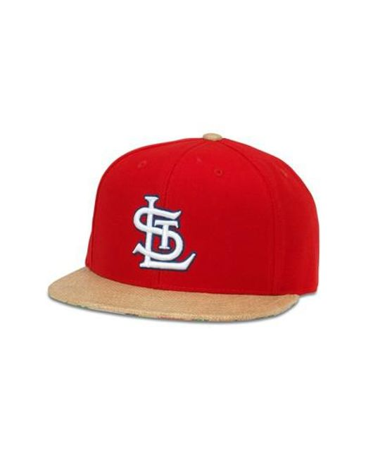 American Needle | Red Harlan Mlb Baseball Hat for Men | Lyst