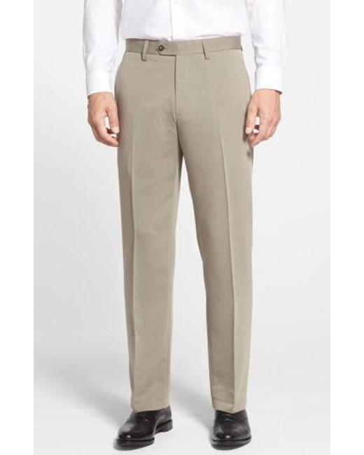 Cutter & Buck | Natural Microfiber Twill Pants for Men | Lyst