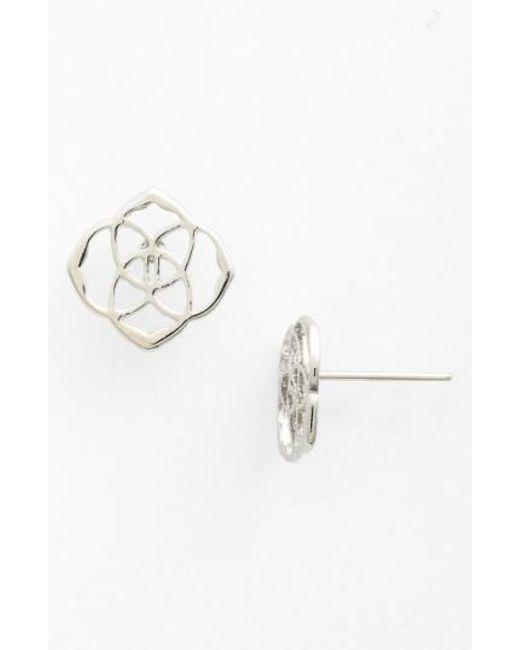 Kendra Scott   Metallic 'dira' Stud Earrings   Lyst