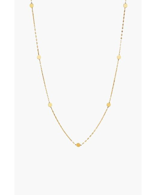 Lana Jewelry | Metallic 'ombre' Disc Station Necklace | Lyst