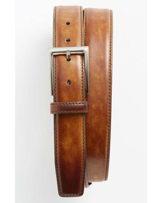 Saks Fifth Avenue   Metallic 'catalux' Belt for Men   Lyst
